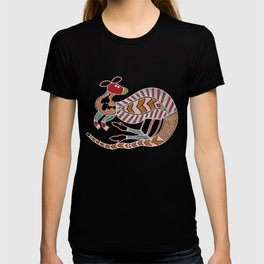 Aboriginal Art - Kangaroo Dreaming T-shirt