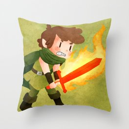 Dungeons, Dungeons, and More Dungeons Throw Pillow