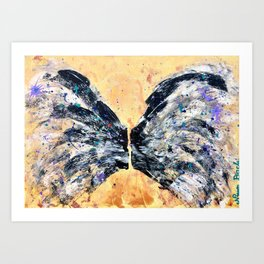 PROTECTED by ANGELS WATCHING OVER Art Print