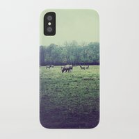 elk iPhone & iPod Cases featuring Elk by Swopes