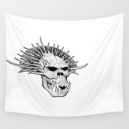 Troll Skull II Wall Tapestry