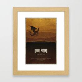 The Goblet of Fire Framed Art Print