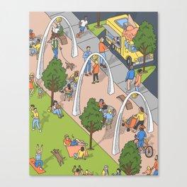 Klyde Warren Park Canvas Print