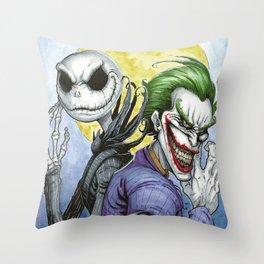 Wicked Smiles Throw Pillow