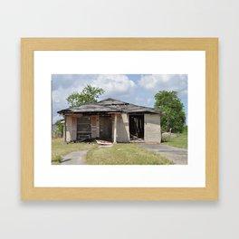 Lower 9th Home - New Orleans, Louisiana Framed Art Print