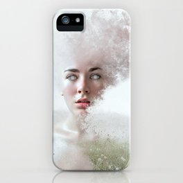 Lady of the Field iPhone Case