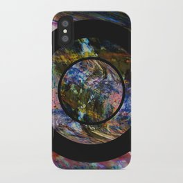 Space Marble iPhone Case
