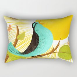 Early To Rise Rectangular Pillow