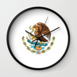 coat of arms of Mexico Wall Clock
