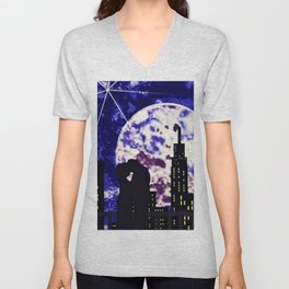 With the Moon's Approval Unisex V-Neck