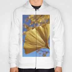Ginkgo Gold! With sapphire sky Hoody