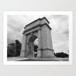 Memorial Arch  Valley Forge, Pa. II Art Print