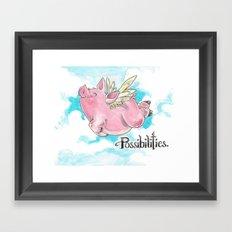 Possibilities  Framed Art Print