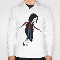 marceline Hoodies featuring Marceline fly by OverClocked