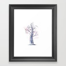 TreeSpine Framed Art Print