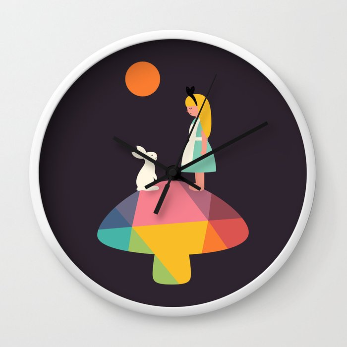 A Wonderful Trip Has Begun Wall Clock