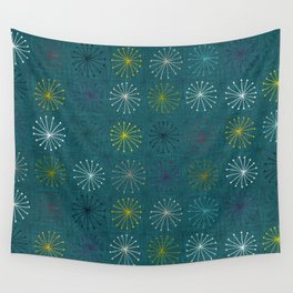 seedheads peacock Wall Tapestry