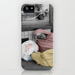 Sleeping Mexican Woman iPhone Case