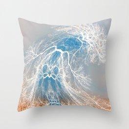 Dancing Tree (late fall) Throw Pillow