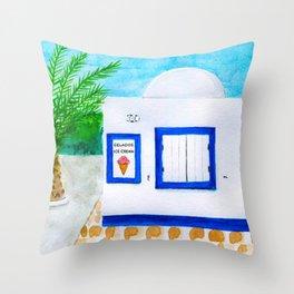 Gelados em Portimão Throw Pillow