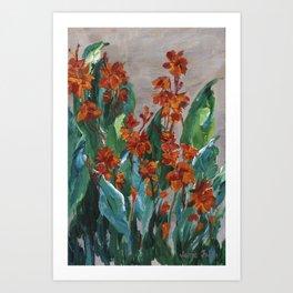 Cannas Art Print