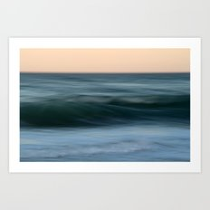 Dialogue with the Sea Art Print