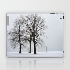 Three Trees in Winter Laptop & iPad Skin
