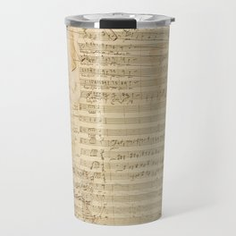 Classical music notations Travel Mug
