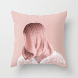 Candyfloss Throw Pillow