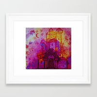russia Framed Art Prints featuring Russia  by Kaxton