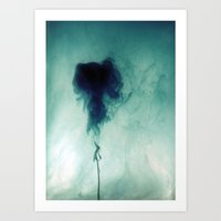 jelly fish Art Prints featuring Jelly Fish by Naty Z