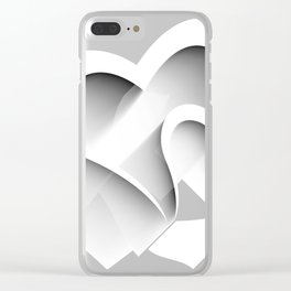 Hearts - valentines and love hearts Clear iPhone Case