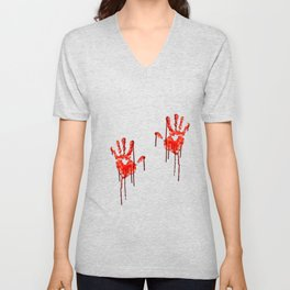 Halloween Hands Unisex V-Neck