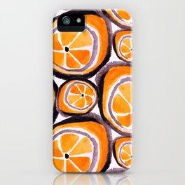 Bunch O' Orange iPhone Case