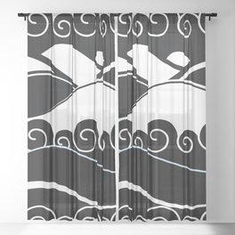 pattern 99 Sheer Curtain