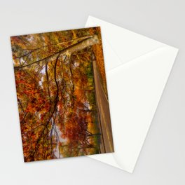 Fall Road,Chestnut Hill, Massachusetts Stationery Cards