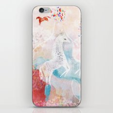 Chevaux iPhone Skin
