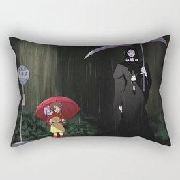 my neighbor moira Rectangular Pillow