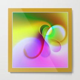 framed vortex -2- Metal Print
