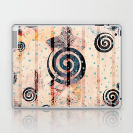 Boho Swirls Laptop & iPad Skin