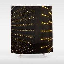 Echo Lights. Fashion Textures Shower Curtain