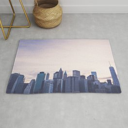 Lower Manhattan Skyline Rug