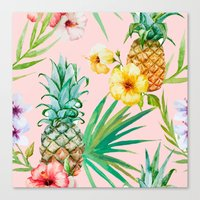 hawaii Canvas Prints featuring Hawaii by 83 Oranges™