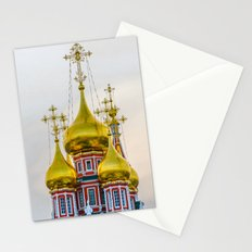 Golden domes Stationery Cards