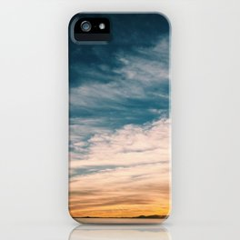 The last sunset iPhone Case