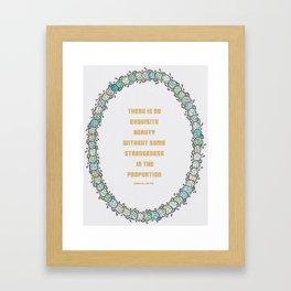 Cacti Print Framed Art Print