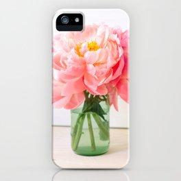 peonies 06 iPhone Case