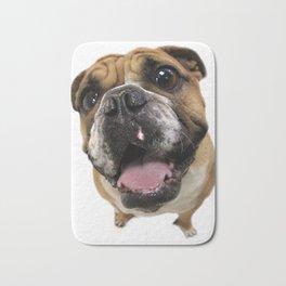 British Bulldog Bath Mat