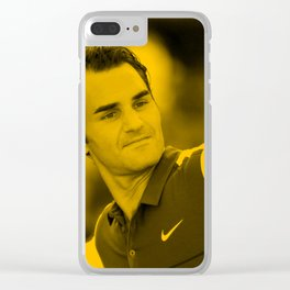 Rager Federer Clear iPhone Case