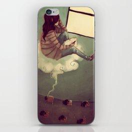 While I Dream iPhone Skin